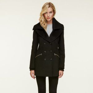Soia & Kyo Fiorella Double Breasted Wool Coat NWT